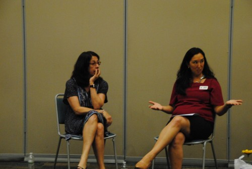WID Florida Coast Chapter President Amanda Hawkins interview Keynote Speaker Donna Orender, Founder Generation W